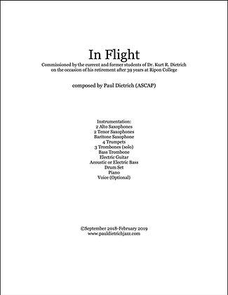 In Flight Score & Parts (PDF) - Grade 4.5