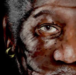 Morgan Freeman Painting  (Time taken: 6 hours)