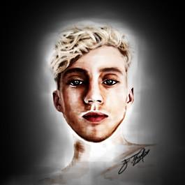 Troye Sivan Painting