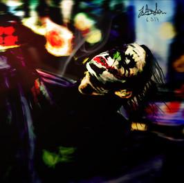 Joker Speed Painting - Photoshop   (Time taken: 7 hours)    (Time taken: 2 hours)