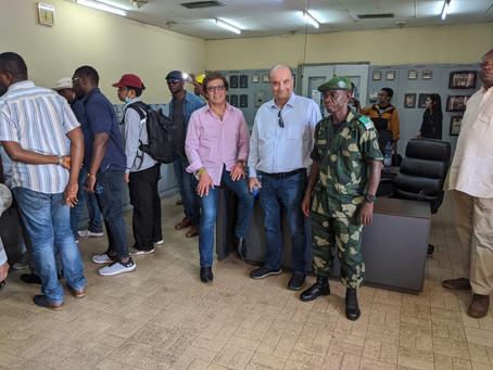 DRC Site Visit by WIKA/LEN