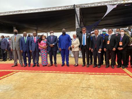 Groundbreaking of 600MW Solar PV Project in Kinshasa