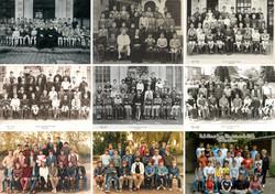 60 ans de photos scolaire