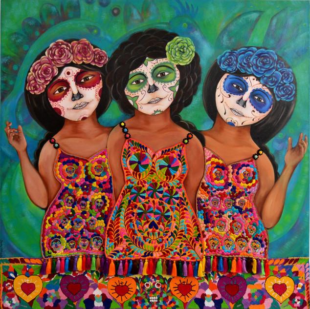 """""""Las Tres Catrinas"""""""