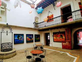 Oaxaca, a city with 3,000 visual artists!