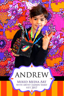 Mixed Media Art Program