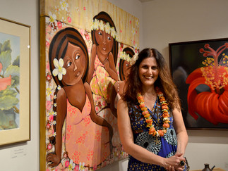 How I went from a family trip to Maui to painting Hawaiian women?
