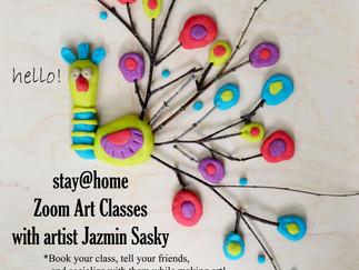 stay@home Mixed Media Art