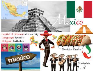 Mixed Media Around the World- Mexico