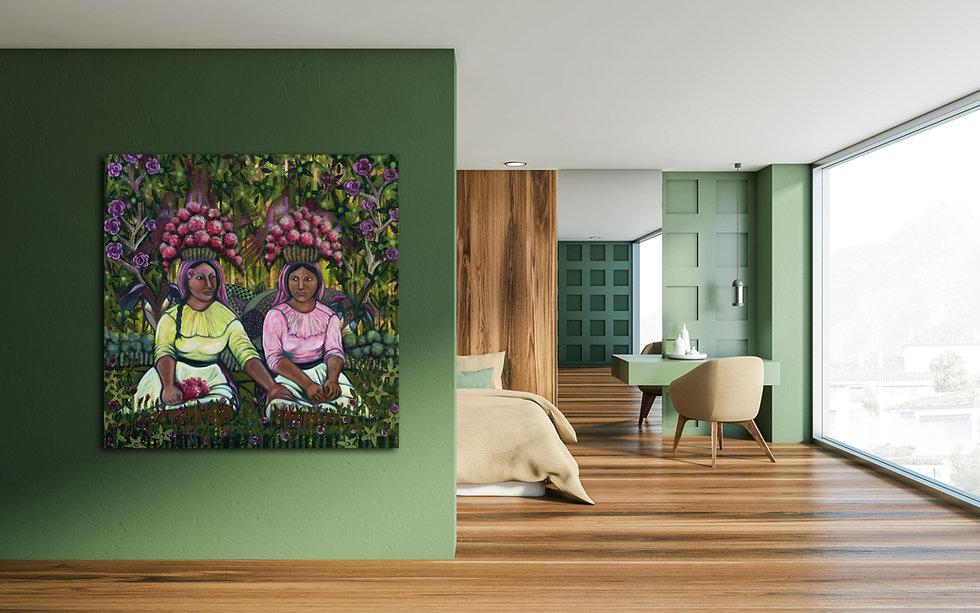 Home-Decorated-With-Jazmin-Sasky-Art
