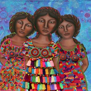 Mujeres en Azul