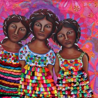 Mujeres en Mulitcolor