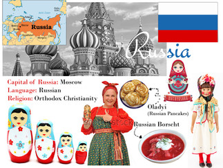 Mixed Media Around The World: Russia
