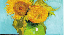 "Van Gogh inspired ""Sunflowers"""