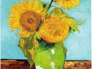 """Van Gogh inspired """"Sunflowers"""""""