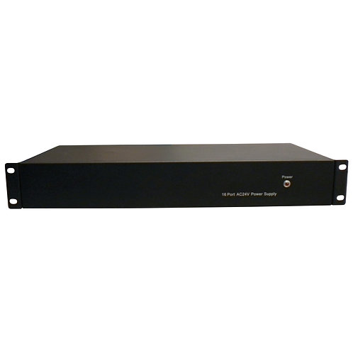 500938 16 Port DC12V Power Supply 10Amp 1.5U Rackm