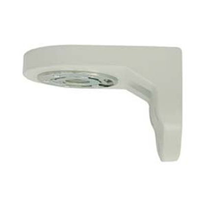 """500617 Wall Mount Bracket for 6"""" Dome Cameras"""