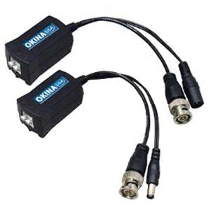 501546 Passive Video Balun w/DC Power Connection (