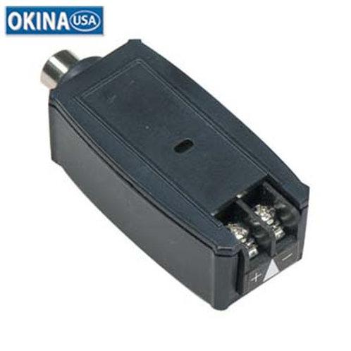 501501 Audio Balan RCA Female for LAN Cable