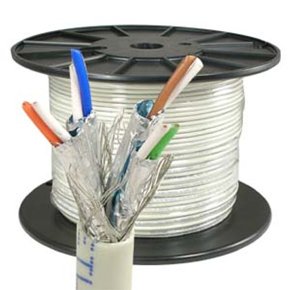 101003BL 1000Ft Cat.6 Stranded Wire Bulk Cable Shi