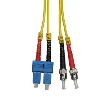 102780 1m ST-SC Duplex Singlemode 9/125 Fiber Opt