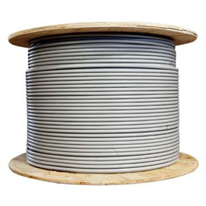 101009GY 1000Ft Cat.6A 10G Solid Wire Bulk Cable G