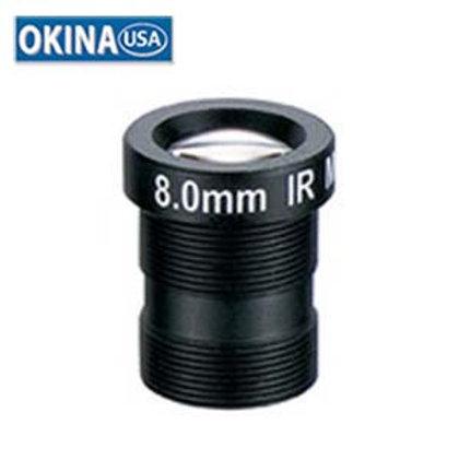 "500556 8.0mm 1 Megapixel Fixed Iris F1.8 1/3"""