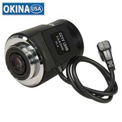 500520 3.5mm ~ 8.0mm Vari-Focal Auto-Iris lens Oki