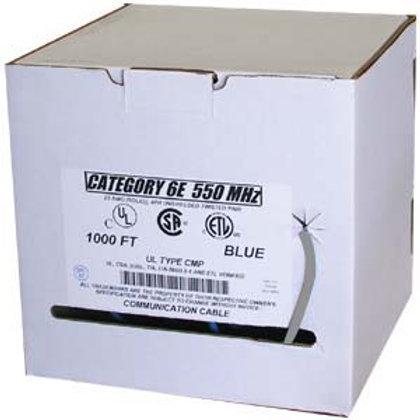 101005BL 1000Ft Cat.6 Solid Cable Plenum w/Spline