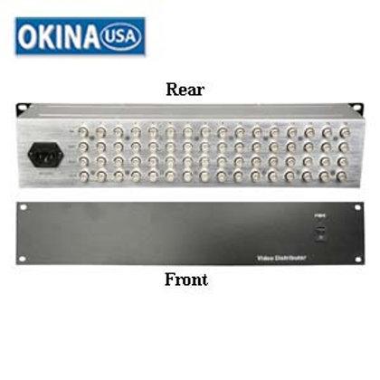 501576 16 Input 48 Output Video Amplifier Okina