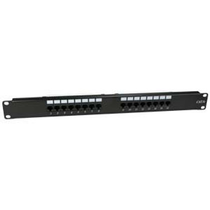 102225 Cat.5E 110 Type Patch Panel 16Port Rackmoun