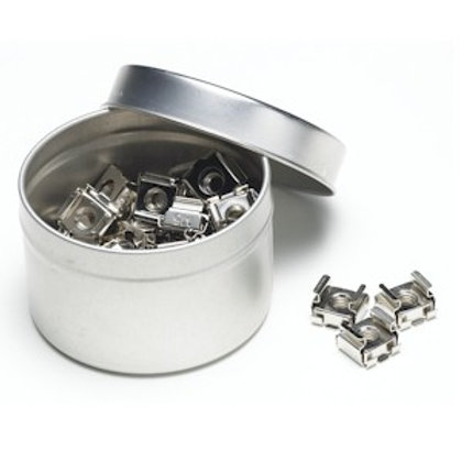 103641 10-32 Cage Nuts Tin Can-50 Pack
