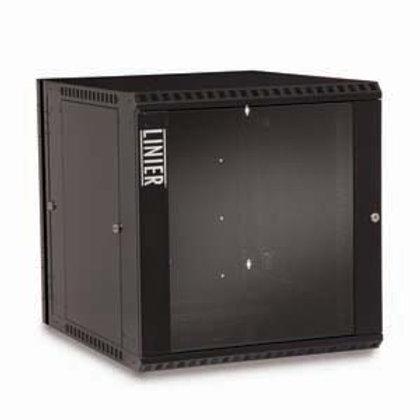 103912 12U Swing Out Wall Mount Cabinet Glass Door