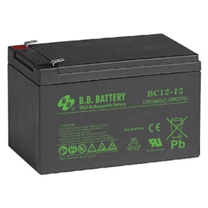 501025 12V 12Ah Battery T2 Terminal, BC12-12-T2