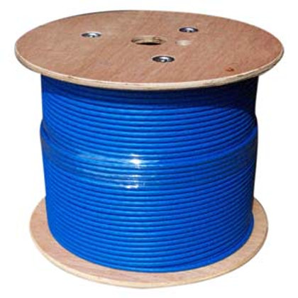 101009BL 1000Ft Cat.6A 10G Solid Wire Bulk Cable G