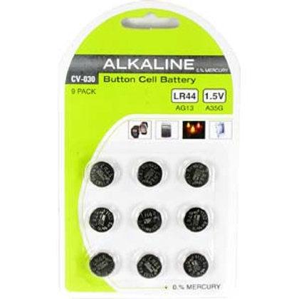 204103 LR44 1.5V Button Cell Battery 9Pack