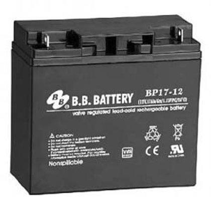 501051 12V 17Ah Battery B1 Terminal, BP17-12-B1