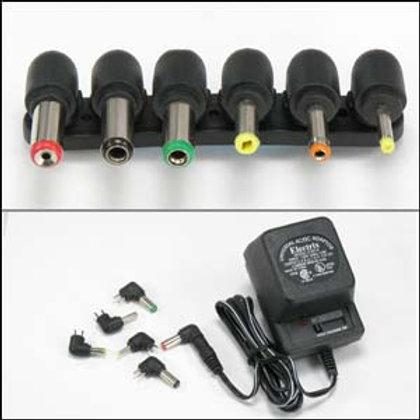 215020 800mA Universal AC/DC adapter w/6 Plugs