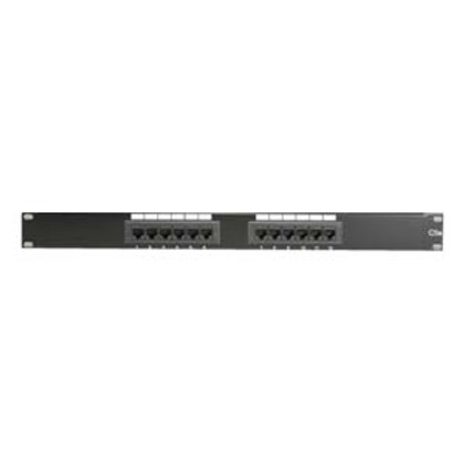 102202 Cat.5E 110 Type Patch Panel 12Port Racmount