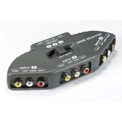 290305 3 Way Audio Video (3RCA) Input Selector