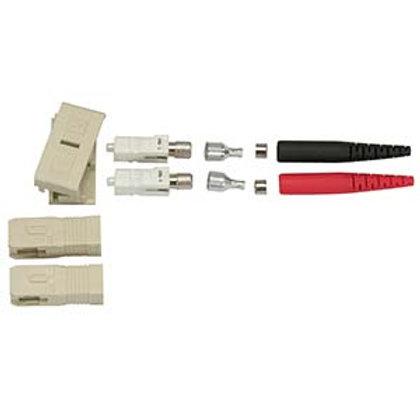102895 Fiber Optic SC Multimode Duplex 3mm Connect