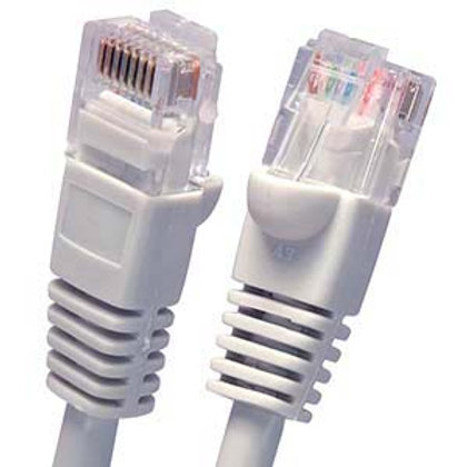 100502GY 2Ft Cat5E UTP Ethernet Network Booted C