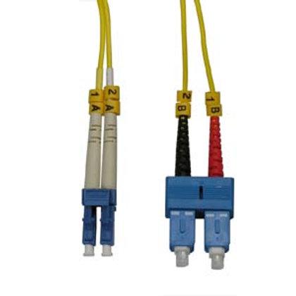 102854 2m LC-SC Duplex Singlemode 9/125 Fiber Opt
