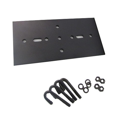 "104126 Rack to Runway Plate For 3""Channel, 9""W to 12""W"