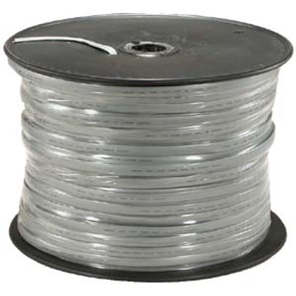 170205 1000Ft UL 6 Conductor Silver Satin Modular