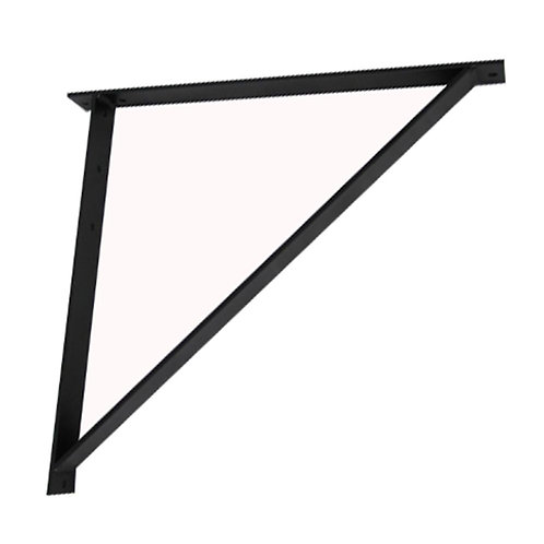 """104131 Aluminum Triangle Support Bracket For 1.5"""", 12""""W Cable Runway"""
