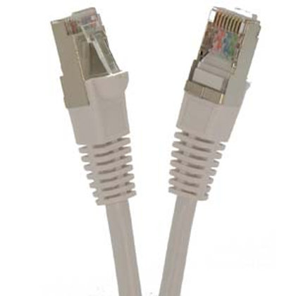 100807WT 15Ft Cat6 Shielded (SSTP) Ethernet Netwo