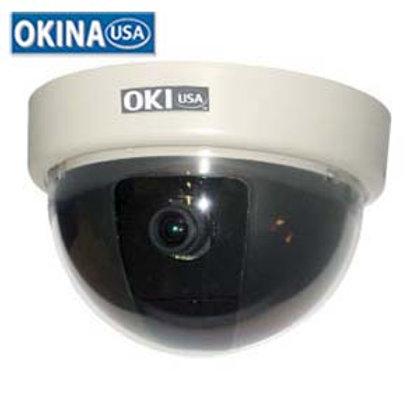 500749WT Mini Effio-E Dome Color Camera, SED4-7610