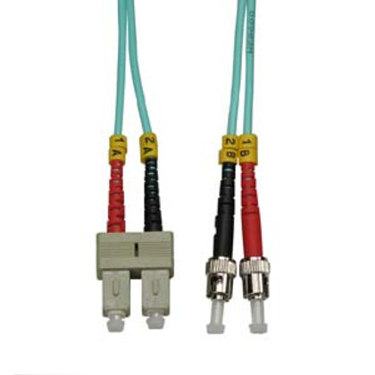 102641 2m SC-ST 10Gb 50/125 OM3 M/M Duplex Fiber