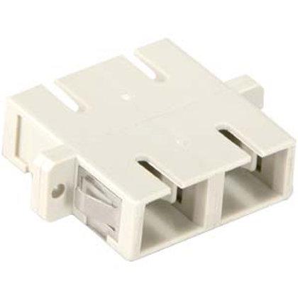 102903 SC-SC Multimode Duplex Optic Adapter Plasti